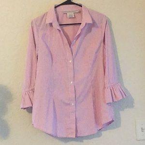 Gretchen Scott button down blouse